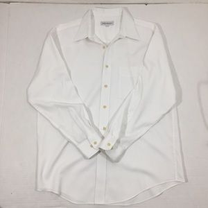 Men's Yves Saint Laurent White Dress Shirt 16.5 33